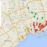 Map of Toronto Dog Parks and Off-Leash Areas